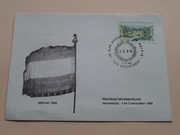 EREVLAG 1830 - Postzegeltentoonstelling HERENTHOUT 1.11.80 ( Zie/voir Foto Voor/pour Détails ) Omslag / Enveloppe ! - Used Stamps