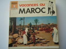 FRANCE USED BOOK 1962 MARABOUT FLACH  VACANCES AU MAROC - Livres, BD, Revues