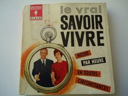 FRANCE USED BOOK 1962 MARABOUT FLACH  LE VRAI SAVOIR VIVRE - Livres, BD, Revues