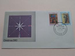 Christmas 1980 - 3 Nov 1980 Grosvenor Street NSW 2000 ( Zie Foto's ) Enveloppe ! - Premiers Jours (FDC)