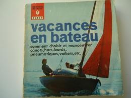 FRANCE USED BOOK 1963  MARABOUT FLACH  VACANCES EN BATEAU - Livres, BD, Revues