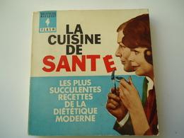 FRANCE USED BOOK 1963  MARABOUT FLACH  LA CUISINE DE SANTE - Livres, BD, Revues