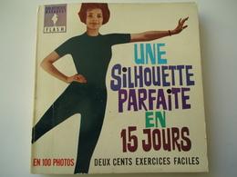 FRANCE USED BOOK 1963  MARABOUT FLACH  LINE SILHOUETTE PARFAITE EN 15 JOURS - Livres, BD, Revues