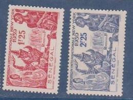 SENEGAL      N° YVERT  :     153/154  NEUF SANS CHARNIERE        ( NSCH 17  ) - Sénégal (1887-1944)