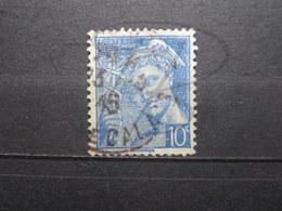 VEND BEAU TIMBRE DE FRANCE N° 546 , FOND LIGNE ( IMPRESSION DEFECTUEUSE ) !!! - Variétés: 1941-44 Oblitérés