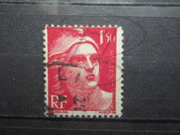 VEND BEAU TIMBRE DE FRANCE N° 712 , SURENCRAGE A DROITE !!! - Varieties: 1945-49 Used