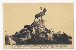 THIEPVAL - N° 13 - BEAUMONT HAMEL - MONUMENT DU CARIBOU - CPA NON VOYAGEE - Autres Communes