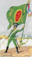 Les Porte-Drapeau De NAPOLEON    LEGION IRLANDAISE   1804 - Trade Cards