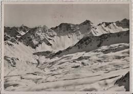 Arosa - Weisshorngipfel, Blick Auf Piz Aela U. Erzhörner - Skilift - GR Grisons