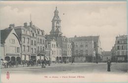 CPA:  REIMS  (Dpt.51:  Place Drouet D'Erlon.  (calèches Taxi)    (E1156.) - Reims