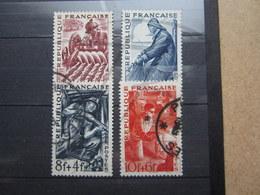 VEND BEAUX TIMBRES DE FRANCE N° 823 - 826 !!! - France