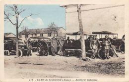 02-SISSONNE-LE CAMP-N°381-E/0287 - Sissonne