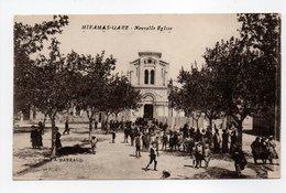 - CPA MIRAMAS-GARE (13) - Nouvelle Eglise 1916 (belle Animation) - Cliché A. PARRAUD - - France