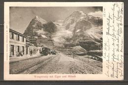 Carte P ( Suisse / Chemin De Fer ) - Trenes