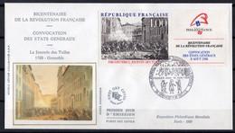 18/06/1988  FDC  N° 2537 - FDC