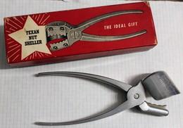 Vintage Texan Nut Sheller Par YORK 1950 Texas Casse Noix Avec Boîte - Sonstige