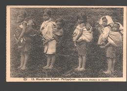 Philippines - Missiën Van Scheut - Philippijnen - De Bruine Kleuters Op Wandel - Children - Philippines