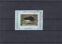 Oiseaux - Umm Al Qiwain - BF Oblitéré - Curiosité - Couleurs Déplacées - Sparrows
