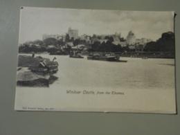 ANGLETERRE BERKSHIRE WINDSOR CASTLE FROM THE THAMES - Windsor Castle