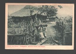 Philippines - Missiën Van Scheut - Philippijnen - Igorotten-hutten Rond Baguio / Igorot Huts Around Baguio - Philippines