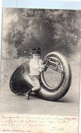 Musique - Instrument - Enfant - COUESNON & Cie Paris - Photo Neurdein Frères Cliché Nadar - Chanteurs & Musiciens