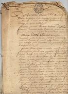 Acte Notarial Notaire Manuscrit Vente 1778 Chatellenie De Vouzon Lamotte Beuvron Cachet Généralité D'Orléans 5 Pages - Manuscripts