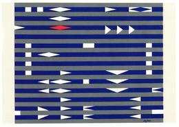 AVION - AIR FRANCE COLLECTION ESPACE RYTHME BY AGAM - 1946-....: Ere Moderne