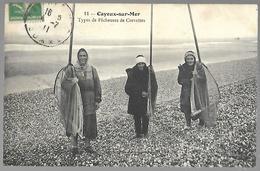 Cayeux-sur-Mer - Types De Pêcheuses De Crevettes - Cayeux Sur Mer