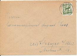 Germany French Zone Rheinland Pfalz Nice Cover Speyer 28-10-1947 Single Franked - Zona Francesa