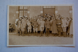Carte-photo De Militaires   Remiremont 1916 - Weltkrieg 1914-18