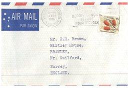 (777) Australia Cover Posted To UK - 1976 (2 Covers) - 1966-79 Elizabeth II