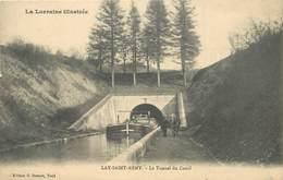 LAY SAINT REMY - Le Tunel Du Canal, Péniche. - Embarcaciones