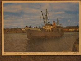 ARAN ISLAND FERRY LEAVING GALWAY - Ferries