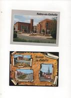 62 SAINS EN GOHELLE  LOT DE 2 CARTES HOTEL DE VILLE  CIM  //  MULTIVUES PARCHEMIN  CIM - Other Municipalities