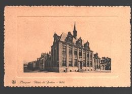 Nieuwpoort / Nieuport - Vredegerecht / Palais De Justice 1928 - Gewafeld / Gaufré - Nieuwpoort