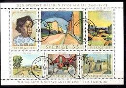 Hoja Bloque De Suecia N ºYvert 1 (o) - Blocks & Kleinbögen