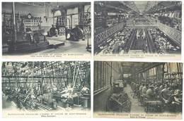 4 Cpa Saint-Etienne - Manufacture D'Armes Et Cycles , Manufrance,  ...  ( S.3045) - Saint Etienne