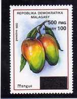 """MADAGASCAR  1998  MNH -   """" FRUITS / MANGUE  SURCHARGE / OVERPRINT """" - 1 VAL. - Madagascar (1960-...)"""