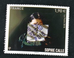 France 2018 Sophie Calle Oblitéré - France