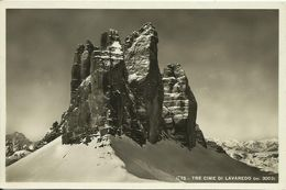 AK Südtirol Dolomiten Tre Cime Drei Zinnen 1937 #48 - Italien