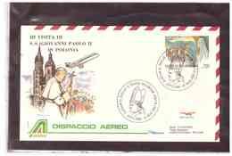 TEM9820   _     S.S. JOANNES PAULUS  II   IN VISITA IN POLONIA  -  DISPACCIO AEREO - Papi