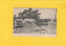 CPA  84  VAISON  PONT DU CHEMIN DE FER DES AURIES EN CONSTRUCTION - Vaison La Romaine