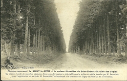 08 Ardennes SIGNY LE PETIT Chemin Communal La Maison Forestiére St HUBERT Lire Le Récit - France