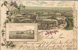 PALESTINA JERICHON, PC, Circulated 1900 - Palästina