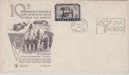 Argentina 1961 Antarctic Base San Martin 1v  FDC  (41079) - FDC