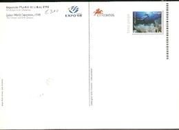 Portugal ** & Postal  Stationery, Expo 98 Oceanario, The Utopia And The Oceans 1998 (3422) - Interi Postali