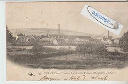 PREMERY : L'Usine Lambiotte,Distillerie De Bois. édit L'Hirondelle. - France