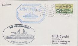 Germany 1988 Deutsche Antarktisexpedition Cover  Ca Polarstern Ca Bremen 12.4.88 (41080) - Zonder Classificatie
