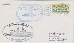 Germany 1988 Deutsche Antarktisexpedition Cover  Ca Polarstern Ca Bremen 12.4.88 (41080) - Timbres