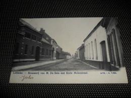 Lebbeke :  Brouwerij Van M. Du Bois Met Korte Molenstraat  -  Brasserie - Lebbeke